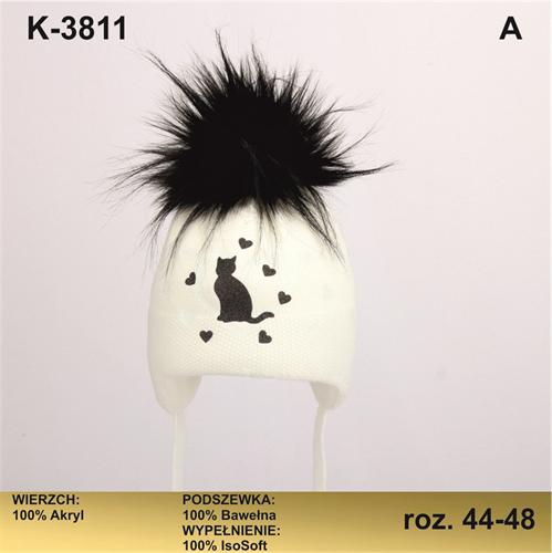 Magrof шапка KOD-3811 ISOSOFT подклад хлопок (р.44-50) - фото 25333