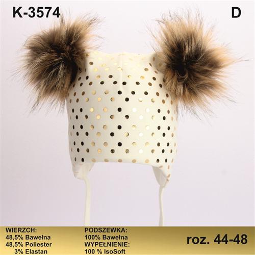 Magrof шапка KOD-3574 ISOSOFT подклад хлопок (р.44-50) - фото 25344
