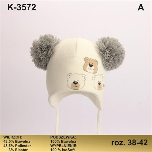 Magrof шапка KOD-3572 ISOSOFT подклад хлопок (р.38-44) - фото 25353