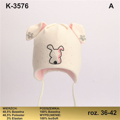 Magrof шапка KOD-3576 ISOSOFT подклад хлопок (р.36-44) - фото 25385