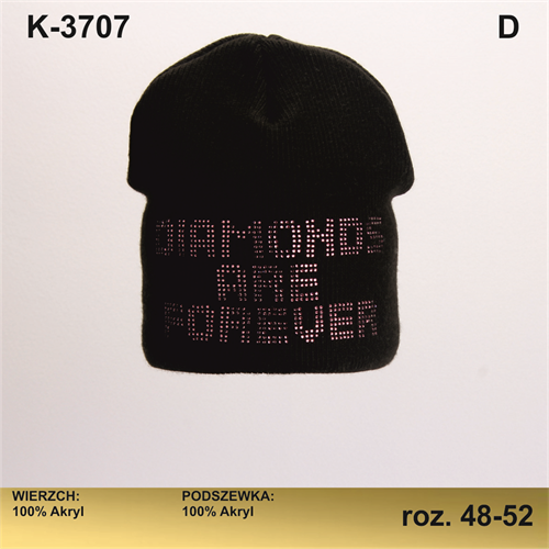 Magrof шапка KOD-3707 двойная вязка (р.48-54) - фото 25415