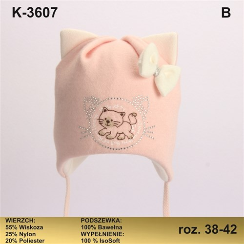 Magrof шапка KOD-3607 ISOSOFT подклад хлопок (р.38-44) - фото 25420