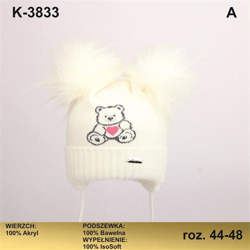 Magrof шапка KOD-3833 ISOSOFT подклад хлопок (р.44-50) - фото 25468