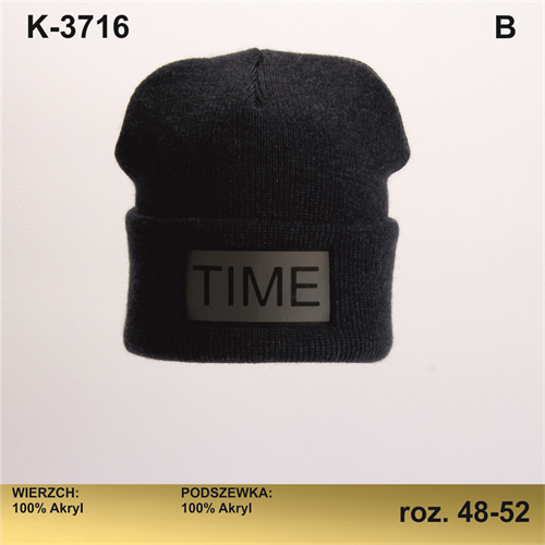 Magrof шапка KOD-3716 двойная вязка (р.48-54) - фото 25655