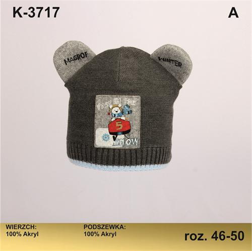 Magrof шапка KOD-3717 двойная вязка (р.46-52) - фото 25674