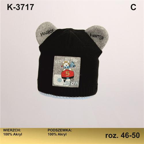 Magrof шапка KOD-3717 двойная вязка (р.46-52) - фото 25676