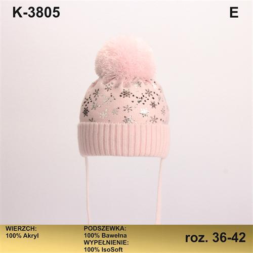 Magrof шапка KOD-3805 ISOSOFT подклад хлопок (р.36-44) - фото 25716