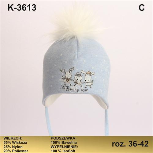 Magrof шапка KOD-3613 ISOSOFT подклад хлопок (р.36-42) - фото 25791