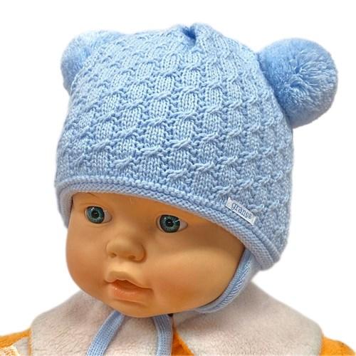 GRANS мод. A 979 ST шапка с утеплителем, подклад хлопок (р.38-40) - фото 26246