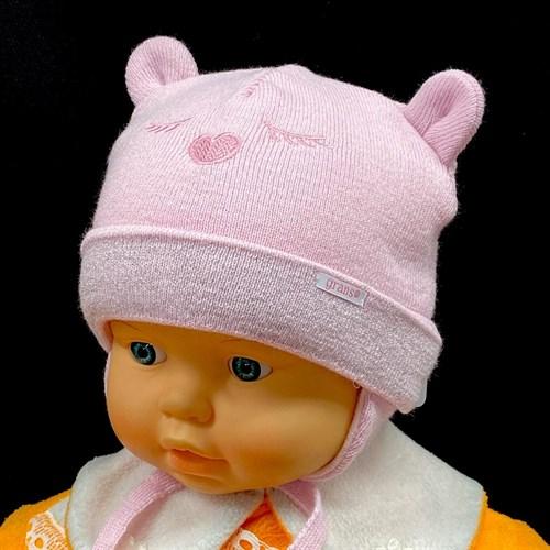 GRANS шапка N 128 ST с утеплителем, подклад хлопок (р.36-38) - фото 26250