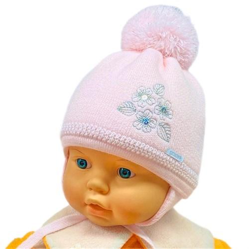 GRANS мод. A 878 ST шапка с утеплителем, подклад хлопок (р.36-38) - фото 26305