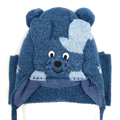 amal  шапка с утеплителем + шарф (р.48-50) собачка - фото 26588