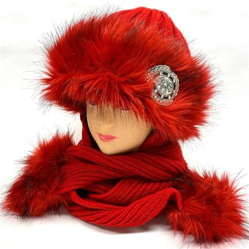 Mila шапка подкл.флис длинные уши (р.54-56) - фото 26606