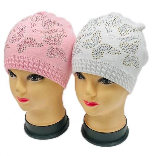 шапка одинарная вязка (р.52-54) - фото 27033