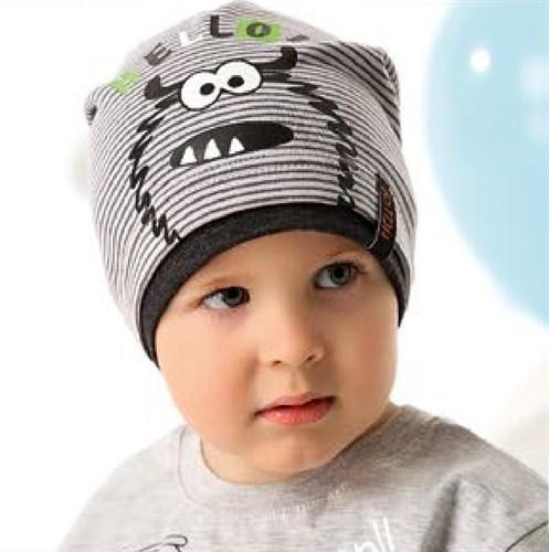 .AJS шапка 40-114 одинарный трикотаж (р.48-50, 52-54) - фото 27257