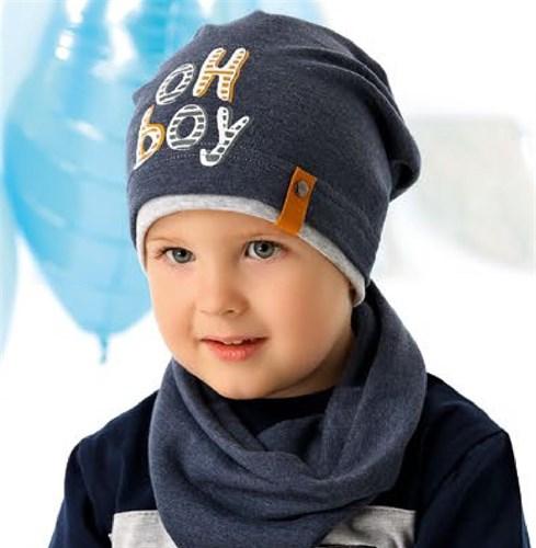 .AJS шапка 40-120L одинарный трикотаж (р.52-54) - фото 27311
