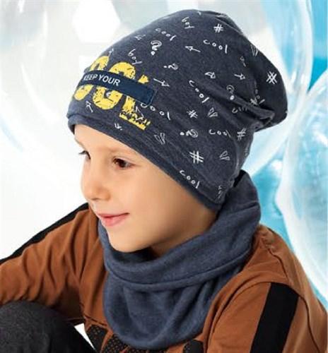 .AJS шапка 40-195M одинарный трикотаж (р.48-50) - фото 27333