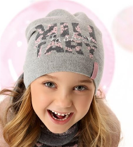 .AJS комплект 40-149 шапка одинарная вязка + снуд (р.52-54) - фото 27441