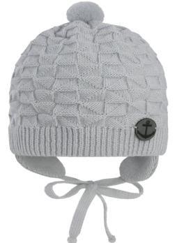 GRANS шапка N 154 вязаная, подклад хлопок (р.36-38) - фото 27515