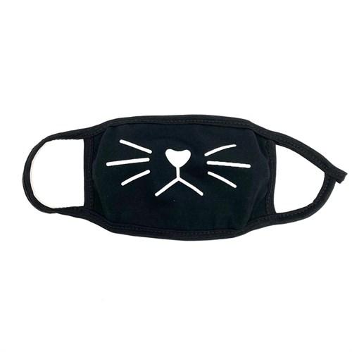 маска на лицо (трикотаж) рисунок-мордочка - фото 27924