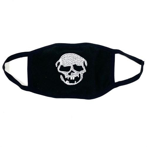 маска на лицо (флис+трикотаж) - череп - фото 27956
