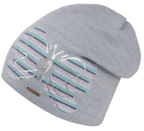 GRANS шапка K 542 вязка подклад хлопок (р.48-50) - фото 28421