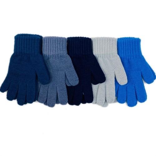Теплыши перчатки TG-077 одинарная вязка (размер 14) - фото 28556