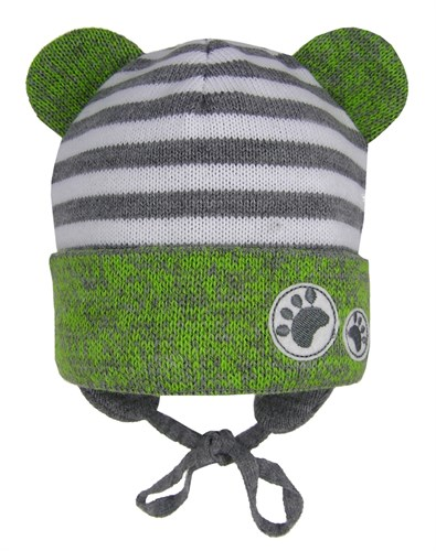 GRANS шапка Ku 438 вязаная, подклад хлопок (р.44-46) - фото 28609