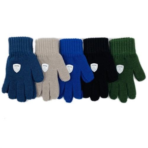Теплыши перчатки TG-075 одинарная вязка (р. 15/7-8 лет) - фото 28724