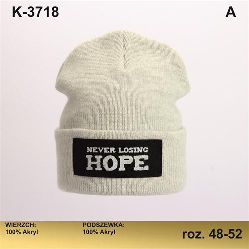 Magrof шапка KOD-3718 двойная вязка (р.48-54) - фото 28841