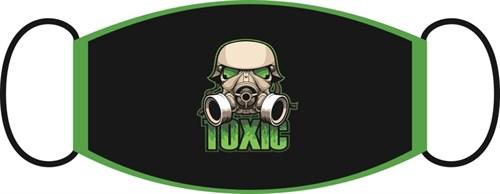 маска двухслойная, с резинкой - Toxic - фото 29563