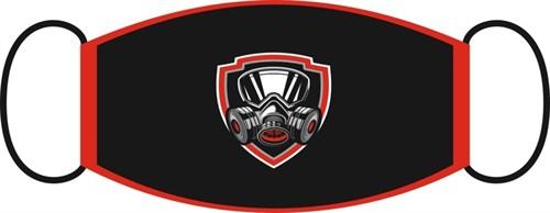 маска двухслойная, с резинкой - респиратор - фото 29567