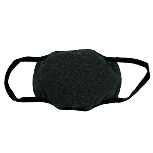 маска на лицо (трикотажная двухслойная) серая - фото 29574