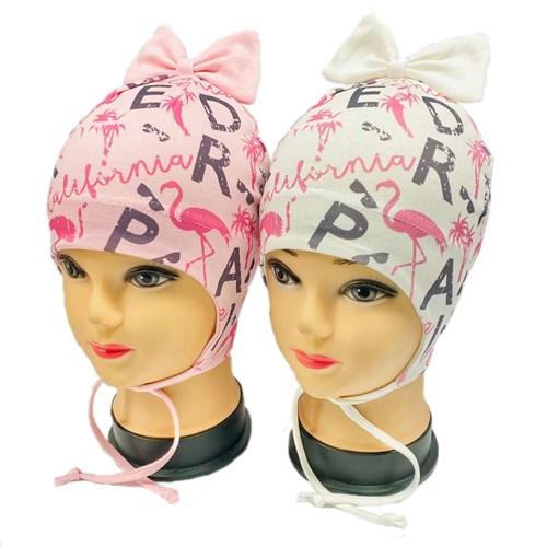 "ambra шапка одинарный трикотаж (р.48-50) ""Фламинго"" - фото 29706"