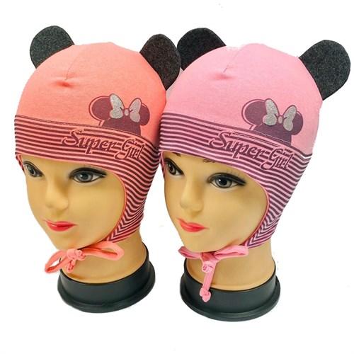 "ambra шапка одинарный трикотаж (р.52-54) ""Super Girl"" - фото 29713"
