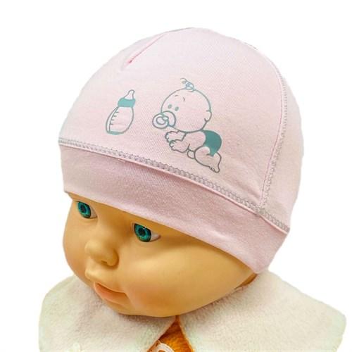 MARIKA шапка MWL-1462 Maty Bobas bis одинарный трикотаж (р.38) - фото 30141