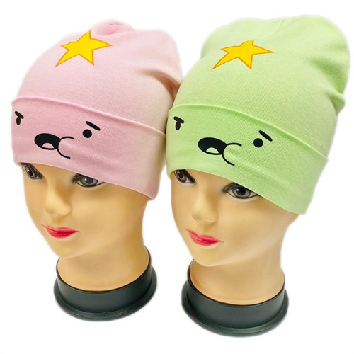 ambra шапка одинарный трикотаж (р.50-52) звездочка - фото 30271