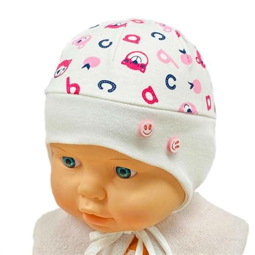 Milli модель пуговки  шапка одинарный трикотаж (р.38-40) - фото 30319
