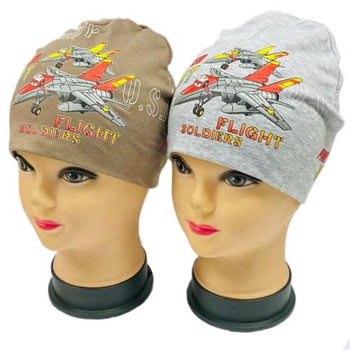 """Hilander шапка двойной трикотаж (р.50-52) """"FLIGHT"""" - фото 30362"""