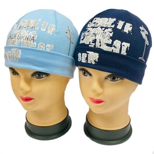 Jamiks шапка 14144 одинарный трикотаж с отворотом (р.44-48) - фото 30383