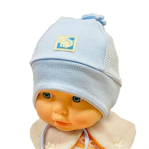 Elo melo  030 шапка одинарный трикотаж (р.46-48) - фото 31042