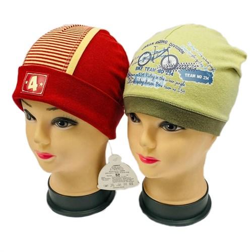 Jamiks шапка одинарный трикотаж в ассортименте (р.46,52) - фото 31090
