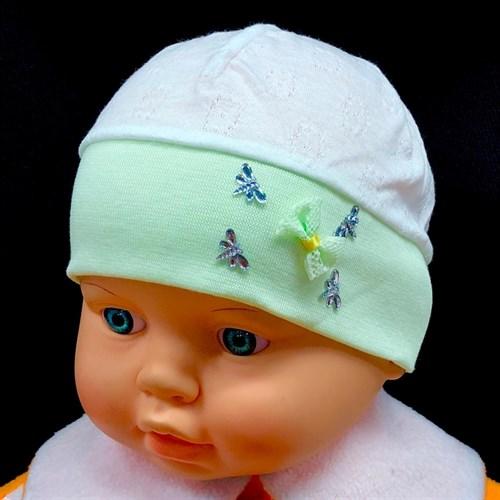 мегашапка 1753s шапка трикотаж с хлопком (р.44) - фото 31116