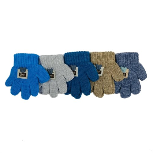 Теплыши перчатки TG-081 одинарная вязка (размер 12) - фото 31334
