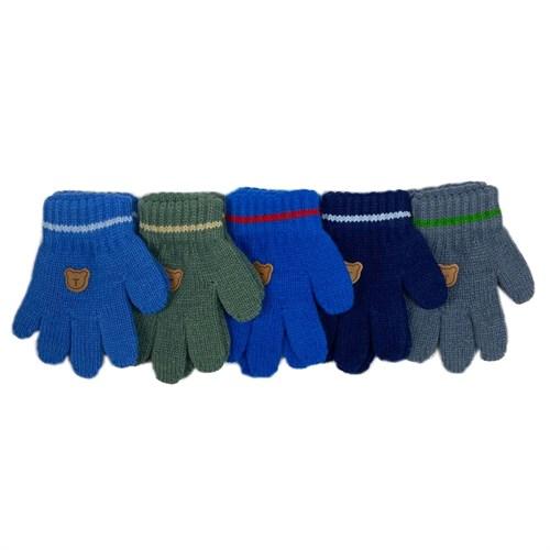 Теплыши перчатки TG-063 одинарная вязка (размер 13) - фото 31343