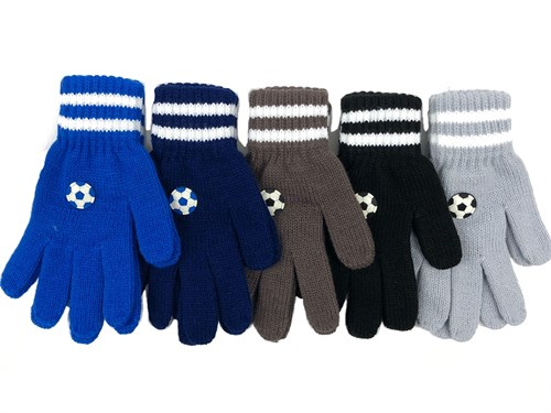 Теплыши перчатки TG-045 одинарная вязка (размер 13) - фото 31364