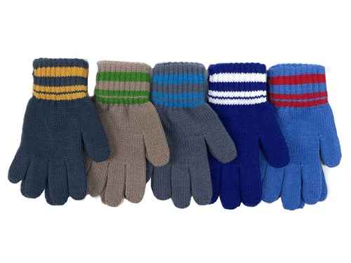Теплыши перчатки TG-001 одинарная вязка (размер 13) - фото 31367