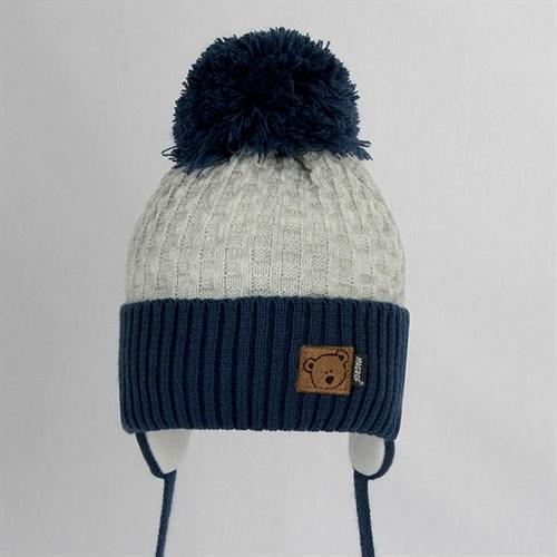 Magrof шапка KOD-3853 ISOSOFT вязаная, подклад хлопок (р.44-50) - фото 31386