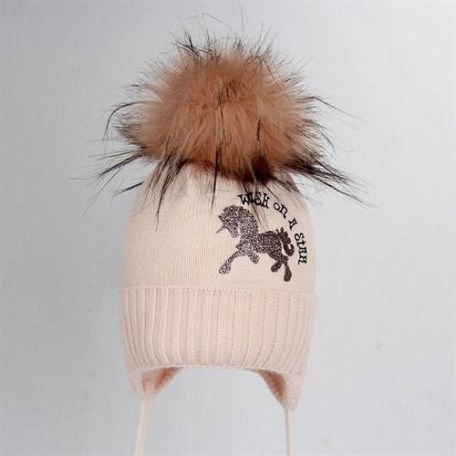 Magrof шапка KOD-3834 ISOSOFT вязаная, подклад хлопок (р.44-50) - фото 31405