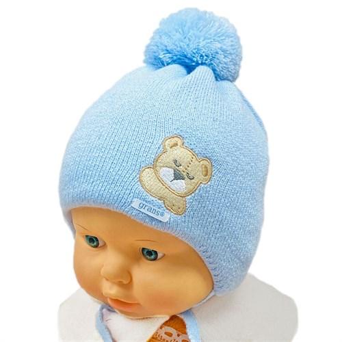 GRANS шапка A 1084 ST с утеплителем, подклад хлопок (р.38-40) - фото 31542